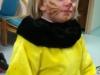 Louise déguisée pour le carnaval de l'école