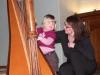 Cours de harpe pour Louise
