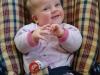 Louise à 8 mois